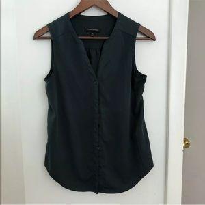 Banana republic popover sleeveless blouse Xs